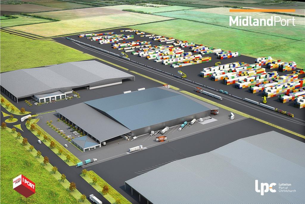 MidlandPort I PORT graphic