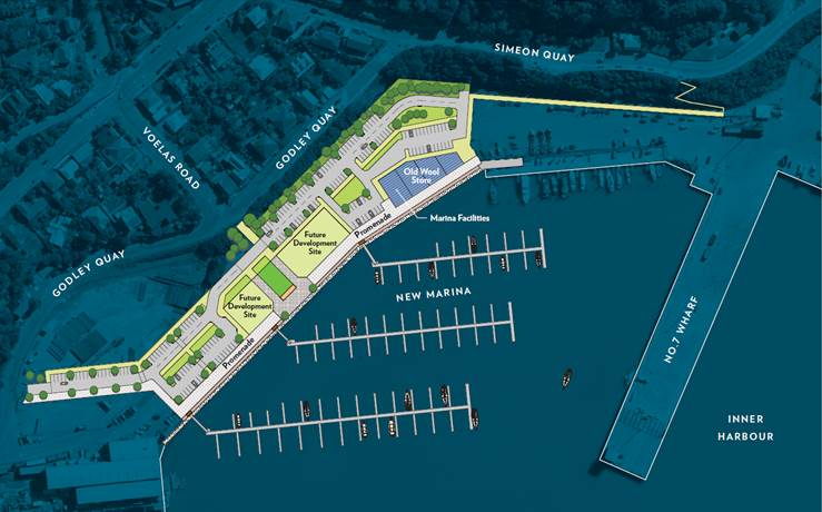 New Marina To Be Built At Lyttelton Lyttelton Port Of Christchurch - Port design